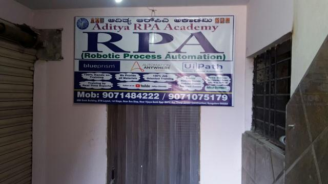 Blueprism RPA Training Academy Near HSR Layout - Software Training