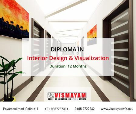 interior design and visualization course at vismayam interior