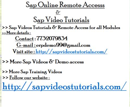 Sap Hana Admin Online Access Coimbatore - Software Training