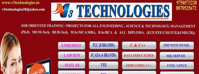 Training/Projects On Embedded, PLC ,Scada,Matlab,Labview,C/C