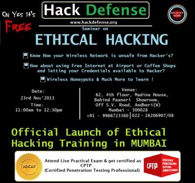 certified ethical hacker course in navi mumbai