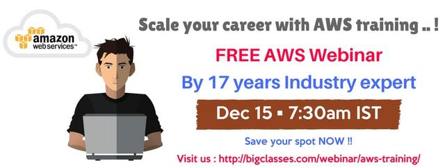 Free Webinar On AWS: Kick-start Your Career In AWS By Cloud