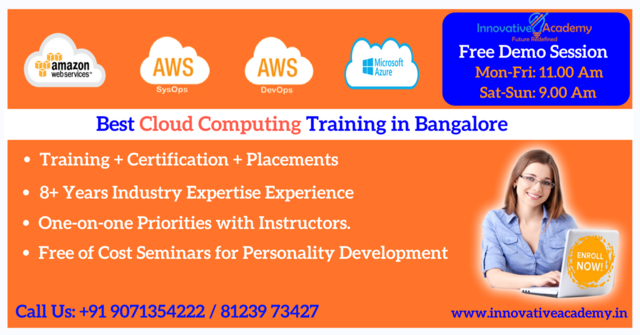 We Are One Of The Best AWS Training And Certification Center
