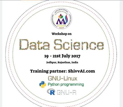 Data Science Workshop On Python And R Programming Language