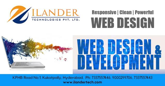 Ilander Best Web Development Company In Hyderabad Software Training Course In Kphb Colony Hyderabad Secunderabad Click In