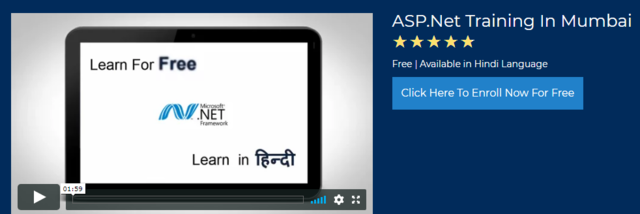 ASP Net Video Tutorials In Hindi For Free | LearnVern