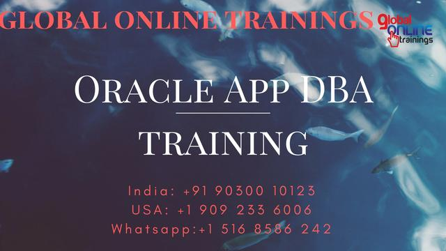 Oracle Apps DBA Training Oracle Apps Database Administrato