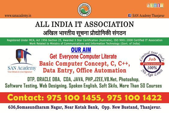 Web Development Courses In Kumbakonam   San Academy   - Basic