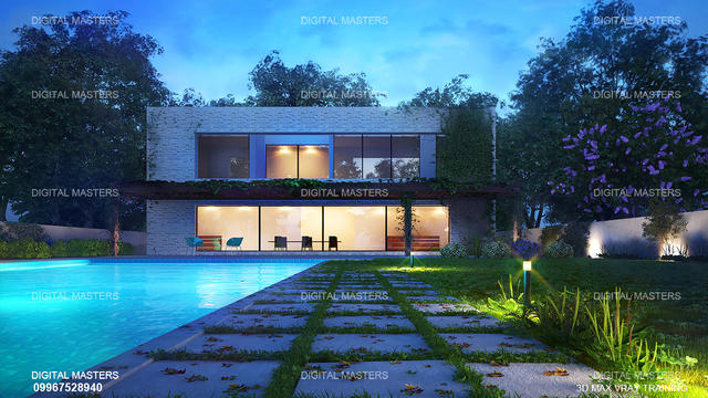 Vray 3d max get professional architectural training for 3d max interior design course