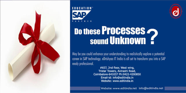 The Only Authorised SAP Training Centre In Coimbatore