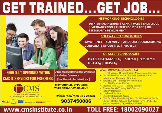 100% Job Oriented Networking Training In Kannur - Networking
