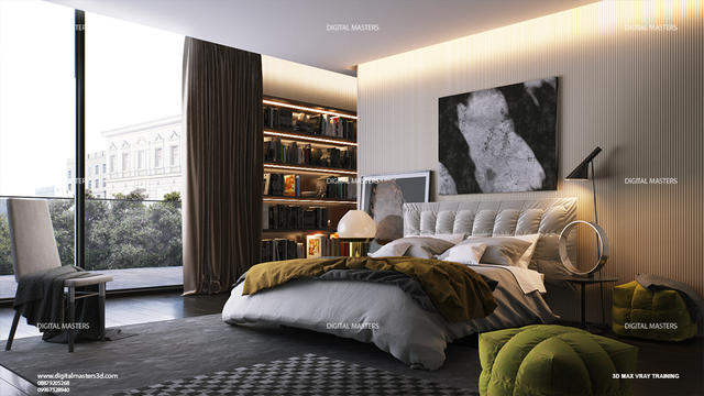 3ds max vray photo realistic rendering interior courses - 3ds max vray render settings interior ...