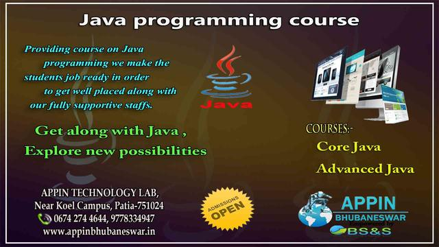 Java Programming Courses In Bhubaneswar - Software Training