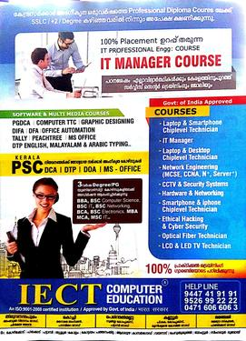 100 job professional training for it manager after course