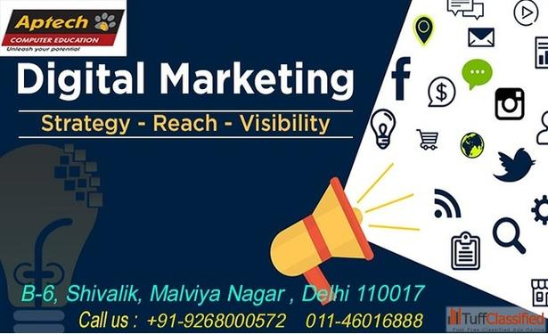 Top 10 Digital Marketing Institute In Delhi Aptech Malviya