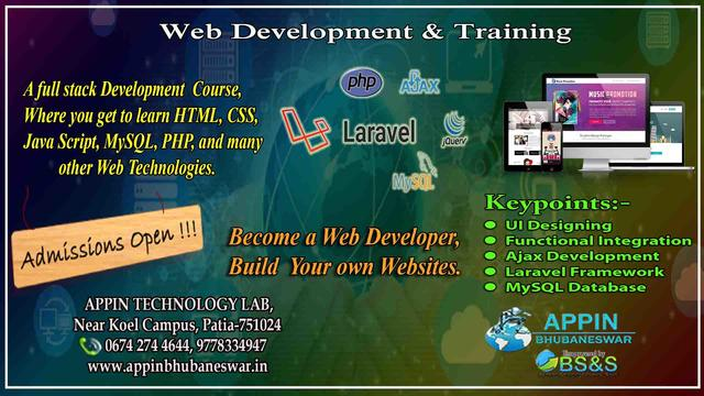 Web Development Training In Atl Bbsr Software Training Course In Patia Bhubaneswar Click In