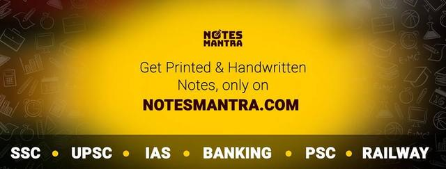 Notes Mantra IAS UPSC Hindi Medium Syllabus Books Notes