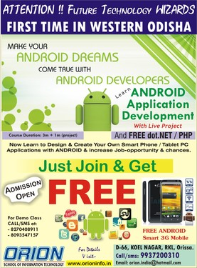 ANDROID APPS DEVELOPMENT Training - Software Training, Animation