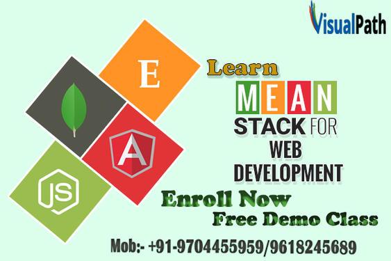MEAN Stack Online Training Institute In Hyderabad - Software
