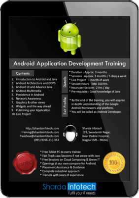 Android Application Development Training & Placement