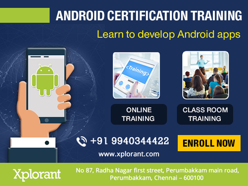 Android Training In Chennai With Placement - Software