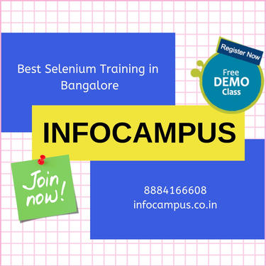 Selenium Training In Bangalore With Python Projects Too