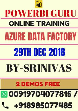 Azure Data Factory DAX Functions - Software Training Course