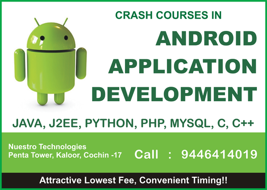 Crash Courses In Android Apps Development, Java, C++, PHP