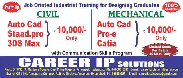 Job Oriented Industrial Training For Designing Graduates