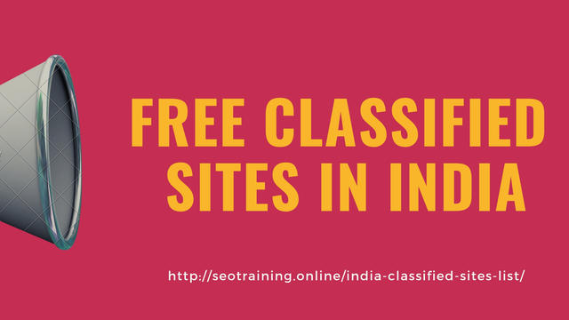 Free Classified Sites In India - Computer & Webdesign