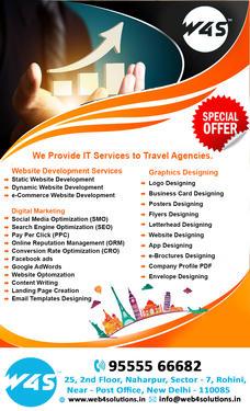 Web Development Company SEO SMO Services India W4S - Computer