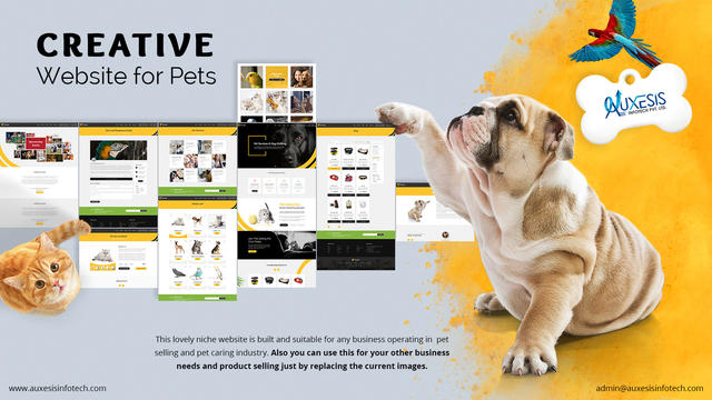 Its More Than Just Showcasing Your Pets ! - Computer & Webdesign