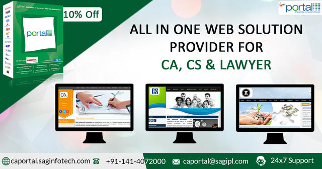 Website Design And Development For CA And CS And LAWYER
