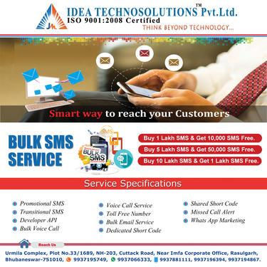 Bulk Sms Provider Bhubaneswar - Computer & Webdesign Services In