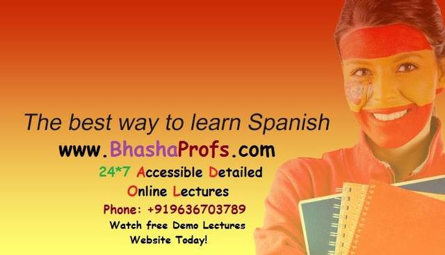 Online Learn Spanish Classes In Patna - Spanish Language