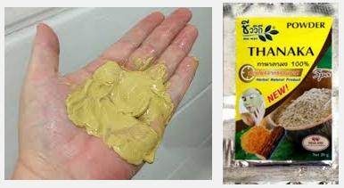 Thanaka Powder And Kusumba Oil Permanent Removal Of Hairs Health