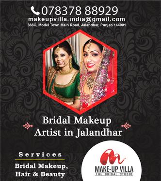 Best Bridal Makeup Artist In Jalandhar Punjab Spa Saloons