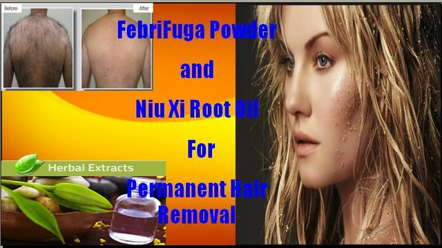 Ayurvedic Febrifuga Powder For Permanent Hair Remover Health