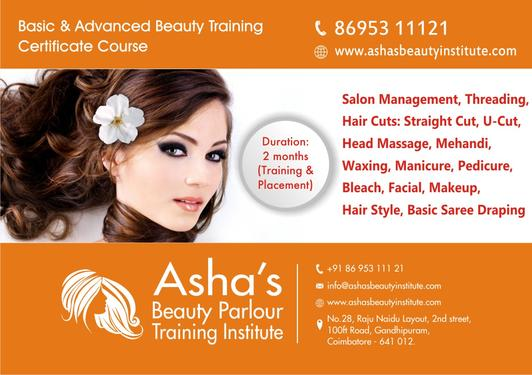 Asha's Beauty Parlour And Training Institute Offers Summer ...