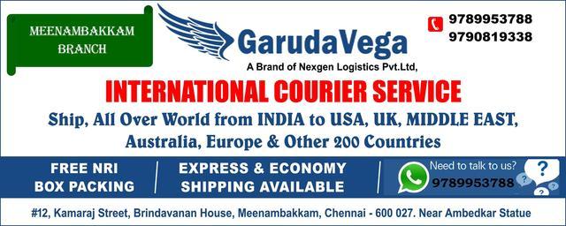 Garudavega International Courier ServiceMeenambakam Chennai
