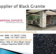 Supplier of Absolute Black Granite UK US Russia Imperial Exp for sale  AMCO Colony