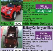 Battery Car and Bikes for your Kids for sale  Ramesh Nagar