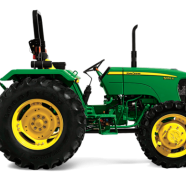 Used, Tractor On Rent,  John Deere 45 HP Dhumping Trolly for sale  India