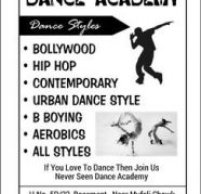 Lets Dance in a Dance Studio - NEVER SEEN DANCE ACADEMY for sale  New Indl Township 5