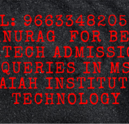 96633482O5 MS Ramaiah Institute Of Technology  fees in Ayodhya Bypass for sale  India