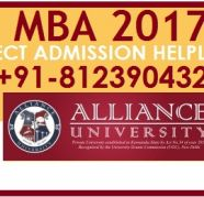 Bangalore MBA Admissions 2017-18 Alliance College in Awas Vikas for sale  India