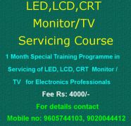 LCD, LED, CRT Monitor/TV Servicing Course for sale  Vanchiyoor