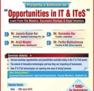 Seminar On Opportunities In IT & ITES by ILEAD In Associat for sale  Tangra