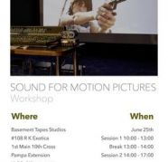 Sound For Motion Pictures Workshop for sale  Hebbal