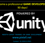 BECOME UNITY3D GAME PROFESSIONAL IN 90 DAYS for sale  Bannerghatta Road